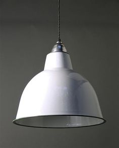grey vintage french industrial metal lamp shade restaurant pendant