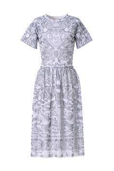 M-Missoni - LACE INSPIRED JACQUARD DRESS