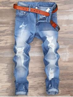 Ripped Zipper Fly Nine Minutes of Jeans is part of School Clothes Jeans - Fashion Clothing Site with greatest number of Latest casual style Dresses as well as other categories such as men, kids, swimwear at a affordable price Ripped Jeans, Jeans Pants, Denim Jeans, Destroyed Jeans, Jeans Swag, Jeans Fit, Jeans Style, Skinny Jeans, Man Jeans