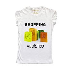 Shopping Addicted Shirt Women's now featured on Fab.