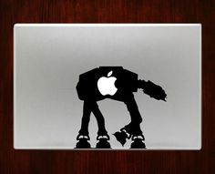 AT-AT Walker Star Wars ATAT Starwars Decal Stickers For Macbook Trackpad Decal #RusticDecal