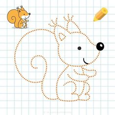 Graph Paper Art, Preschool Writing, 3 Year Olds, Pre Writing, String Art, Snoopy, Education, Crafts, Fictional Characters