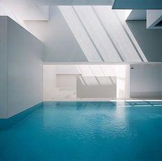 Les bains de Docks : Jean Nouvel #Piscine #Design www.corseprestige.com