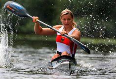 Nicole Reinhardt begann ihre Karriere im WSV Lampertheim und beim Landesleistungs- stützpunkt in Mannheim. Bei der Kanurennsport-Weltmeisterschaft 2007 in