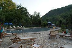 E dopo la faticata il meritato relax nella piscina termale delle Tane del Diavolo a #Parrano #SorellaAcqua