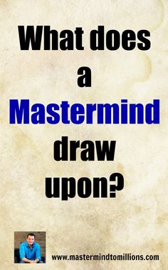 Do you know the difference between a Mastermind Group and a Coaching Group? Yes, there is a difference and you should pick the one that best fits your needs.