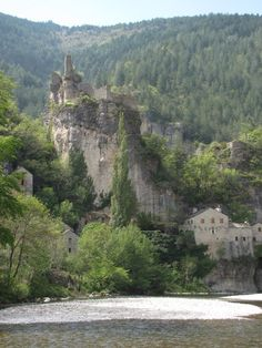 Castle Bouc in Sainte Enimie, a village in the South of France
