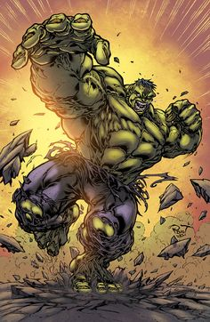 Hulk 2 Furious by logicfun.deviantart.com on @deviantART #Marvel #comic #hulk . Pin and follow pyra2elcapo