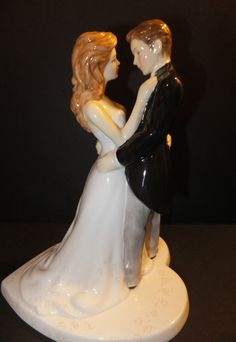 Royal Doulton Wedding Cake Topper Our Wedding Day Cake Topper Figurine NIB http://www.ebay.com/