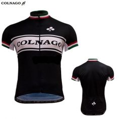 Colnago Master #retro #wielershirt zwart #fietskleding