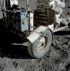 The make-shift repair on the Moon. Photo: NASA AS17-137-20979