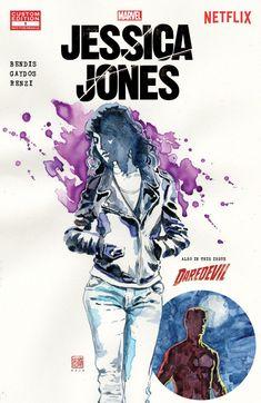 Marvel's Jessica Jones #1 #Marvel #JessicsJones (Cover Artist: David Mack) Release Date: 10/7/2015