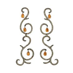 Earrings by Lucia Odescalchi found on Polyvore