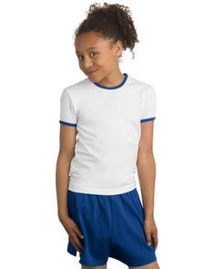 Girls Ringer T-shirt - Buy discount sport-tek girls ringer t-shirt 0e13ec5d2e74