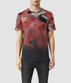 Camisetas AllSaints para Hombre   Cuello Redondo y Cuello de Pico