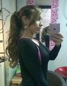 Cabelo comprido loiro com mega hair de queratina