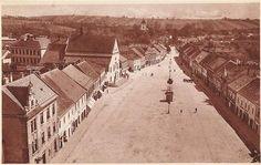 Masarykovo náměstí, první polovina 20. století Louvre, Building, Travel, Viajes, Buildings, Destinations, Traveling, Trips, Construction