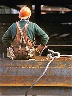 Iron Workers. They don't go to the office everyday, they build it! / bontool.com
