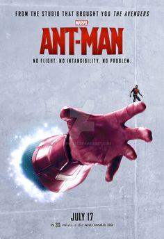 Ant-Man Poster (Vision) by tclarke597.deviantart.com on @DeviantArt