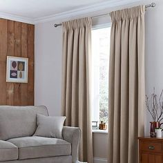 Excellent collection of ready made pencil pleat curtains perfect for all rooms in your home. Fully lined pencil pleat curtains and blackout pencil pleat curtains, all available from Dunelm. Pleated Curtains, Curtains Living, Velvet Curtains, Lined Curtains, Curtains For Sale, White Curtains, Curtains With Blinds, Insulated Curtains, Thermal Curtains