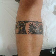 Maori. Tatuador: Fábio Habibe.