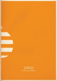 Juno (2007) - Minimal Movie Poster by Brett Thurman #minimalmovieposters #alternativemovieposters #brettthurman
