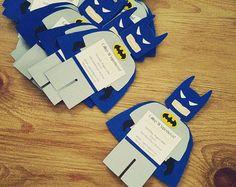 Batman Birthday Invitations Batman by CreativeCoupleDnT on Etsy