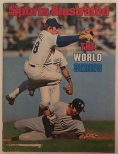 4133571ce96 1977 Sports Illustrated Magazine World Series New York Yankees Los Angeles  Dodgers Baseball