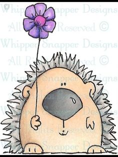 Whipper Snapper Designs is an expansive online store selling a large variety of unique rubber stamp designs. Animal Drawings, Cute Drawings, Happy Paintings, Rock Crafts, Mail Art, Woodland Animals, Stone Painting, Rock Art, Doodle Art