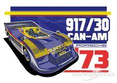PORSCHE – 917/30 CAN-AM: