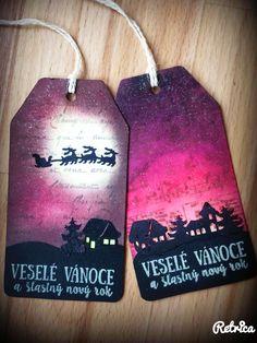 Vánoce 2015 Christmas Tags