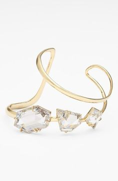 Alexis Bittar 'Miss Havisham - Liquid' Hinged Bracelet