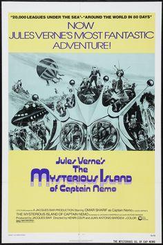 "The Mysterious Island (1973) ""La isla misteriosa"" (original title)Stars: Omar Sharif, Ambroise Bia, Jess Hahn ~  Directors: Juan Antonio Bardem, Henri Colpi"