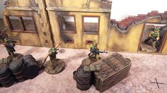 #ruins #tabletop #dust1947 #dusttactics #painting #dustbrothers #building #thorminiatures