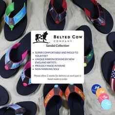 48736aeb7d41 Get your pair of Belted Cow Flip Flops now!  flipflops  nautical  preppy
