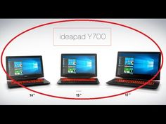 ⚫Novo Notebook Lenovo ideapad Y700 Gamer Intel® Core™ i7-6700HQ 2.6GHz; ...