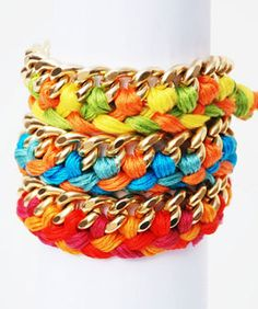 10 Amazing Friendship Bracelets - great girl craft idea