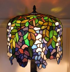 Lamp from Lancaster all repaired and lit up Stained Glass Lamps, Tiffany Lamps, Picture Show, Light Up, Lancaster, Home Decor, Plants, Drawings, Decoration Home