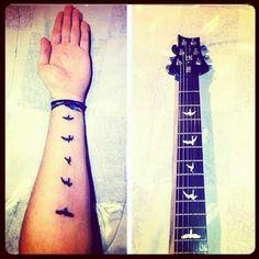 PRS tattoo