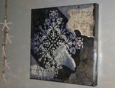 Canvas by Deb Drager.  Deb will be teaching at the August Faux Retreat.