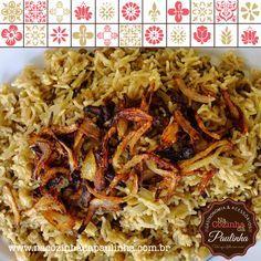 Mujaddara, o arroz com lentilhas árabe