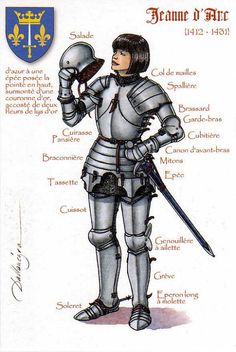 Joan of Arc (1412 – 30 May 1431) | Thank you Veronique! Joan… | Flickr