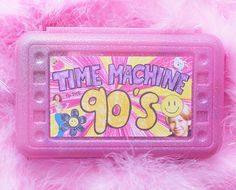 time machine to the 90s!