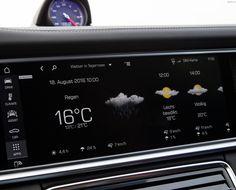 Porsche Panamera 2017 Central Display UI / UX