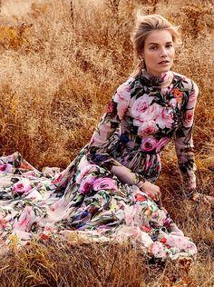 she-loves-fashion: Suvi Koponen by Sebastian Kim for Vogue...