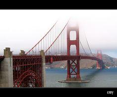 San Francisco, Golden Gate bridge.