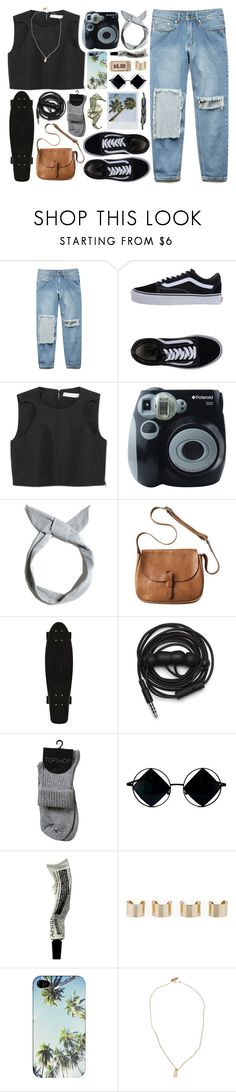 """cali cali cali"" by admir-ing ❤ liked on Polyvore featuring Forever 21, Vans, Polaroid, Pull&Bear, Toast, Urbanears, Aesop, Maison Margiela and Devon Pavlovits"