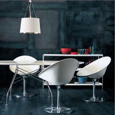 Eros Chairs by Philippe Starck for Kartell