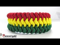 How to Make a Paracord Celtic Bar Bracelet by TIAT - YouTube