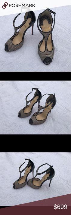 NEW*CHRISTIAN LOUBOUTIN*TINY 120 Heel***EU 36;US 6 100% Authentic, EU 36 US 6....TINY 120 Evening Sandal Heels ...... Brand new with original box and dustbags!!! Christian Louboutin Shoes Heels